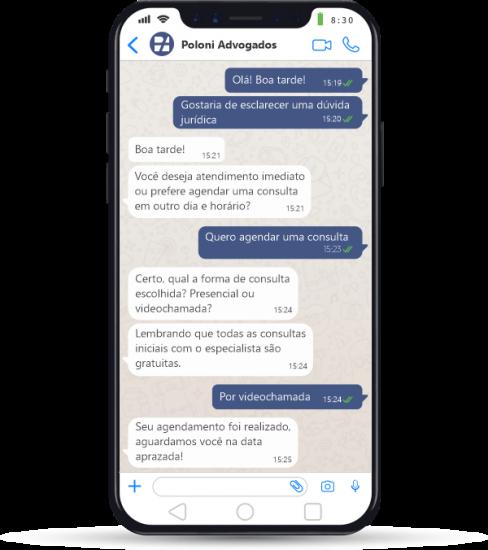 Chat Poloni Advogados Associados